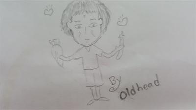 母親節媽咪畫像繪畫比賽 Oldhead Chen