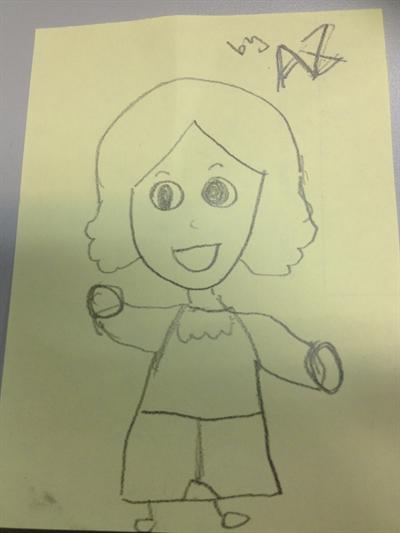 母親節媽咪畫像繪畫比賽 A.z. Yeh