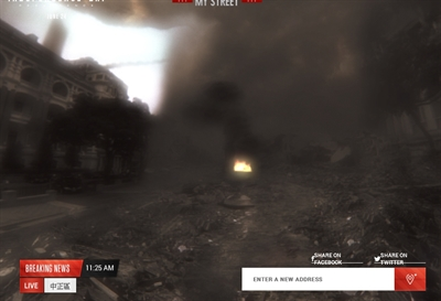 ID4 外星人摧毀台灣地標追追追 絮花