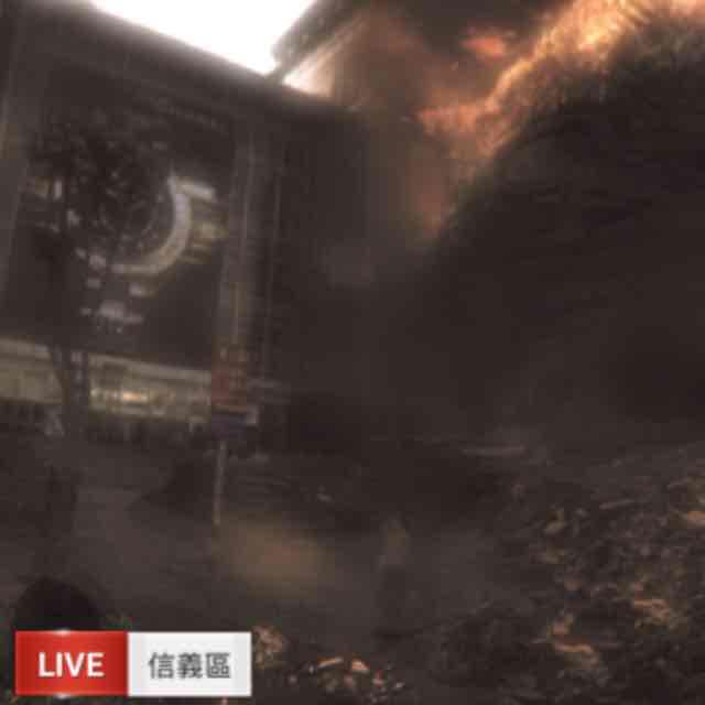 ID4 外星人摧毀台灣地標追追追 奕汝 劉