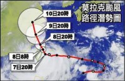 你印象最深的颱風 A.z. Yeh