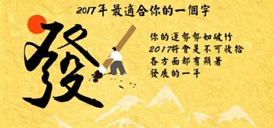 2017 即將來臨,快來測你的代表字 Eva Huang