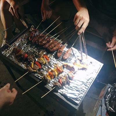 月娘也流口水,募集中秋最潮烤肉 Chen Karen