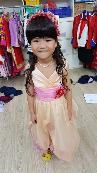 追憶孩子的童年,說出孩子最可愛的一面 Mi Mi