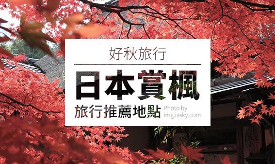 【粉多旅遊】好秋旅行,日本賞楓旅行推薦地點