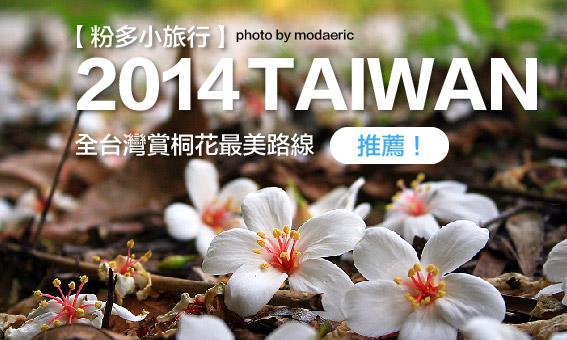 【粉多小旅行】2014桐花季-全台灣賞桐花最美路線推薦