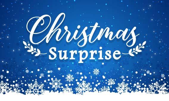 聖誕節即將到來!給閃光一個聖誕驚喜